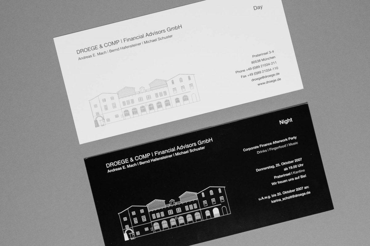 Einladungskarte | DroegeGroup