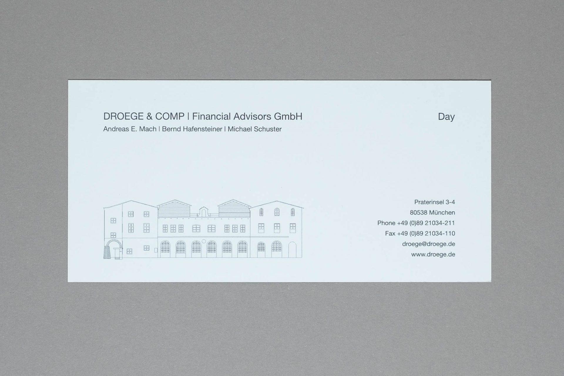 Einladungskarte   DroegeGroup